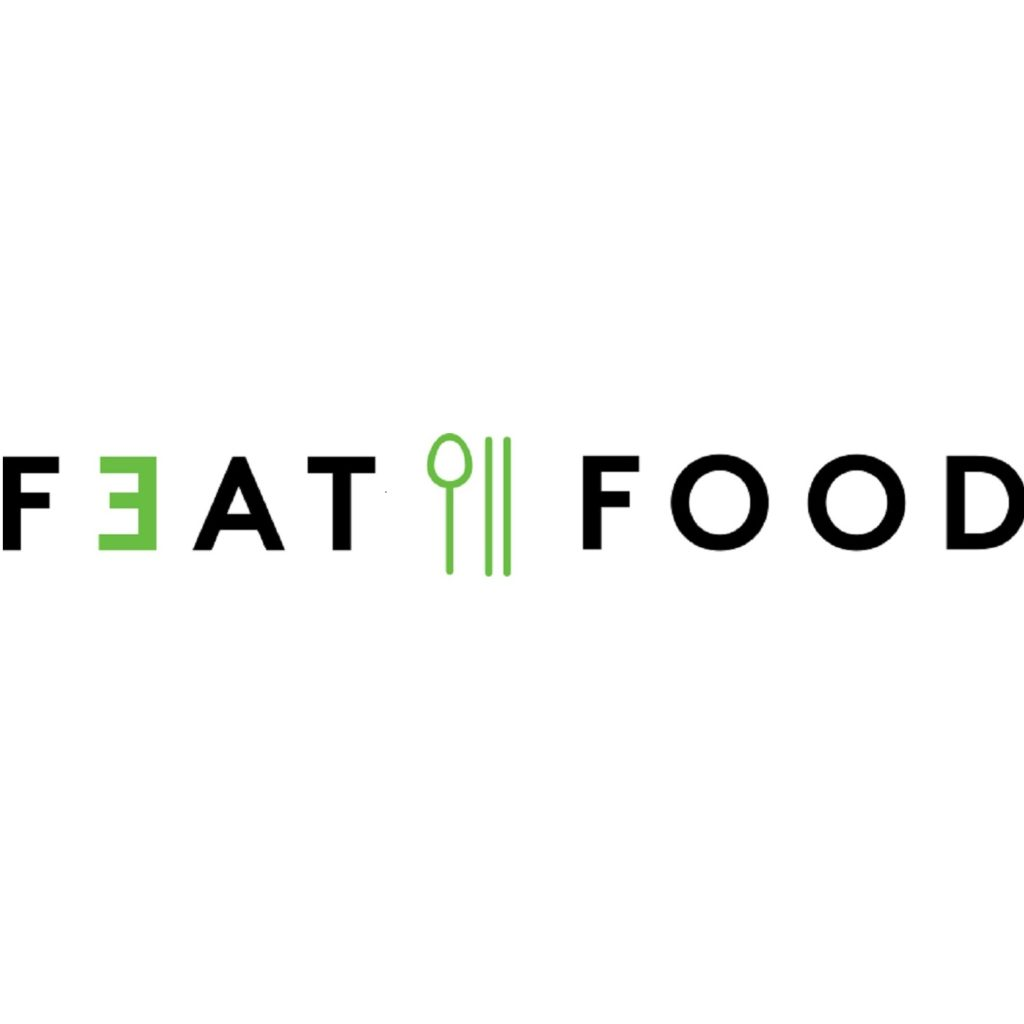 FEAT FOOD_vector logo